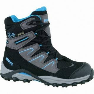 Meindl Winter Storm Junior GTX Velour Mesh Jungen Boots schwarz, warmes Comfort-Futter mit Gore-Tex, 4535105/39