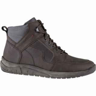 Waldläufer Hanson 12 Herren Leder Winter Boots moro, Herren Extra Weite, molliges Warmfutter, Fußbett, 2541137/8.5