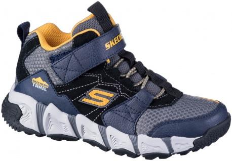 SKECHERS Velocitrek Mid-Peak Jungen Mesh Sneakers navy, Skechers Air Cooled M...