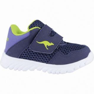 Kangaroos Inlite 4003 coole Jungen Synthetik Sneakers navy, Kangaroos Decksohle, Laschen-Tasche, 3040102