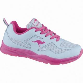 Kangaroos K-Lev III Mädchen Synthetik Sneakers grey, Kangaroos Fußbett, 4238124