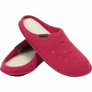 the best attitude 0d644 a96f2 Crocs Classic Slipper warme Damen Textil Hausschuhe candy pink, kuscheliges  Futter, Wildlederboden, 1941101/36-37