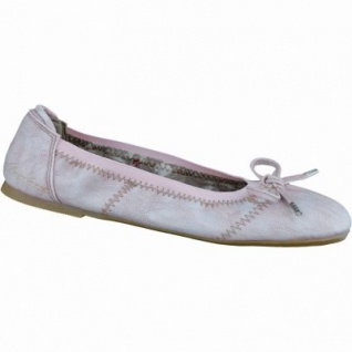 Mustang modische Mädchen Synthetik Ballerinas rose, Textilfutter, gepolsterte Decksohle, 3336111/37