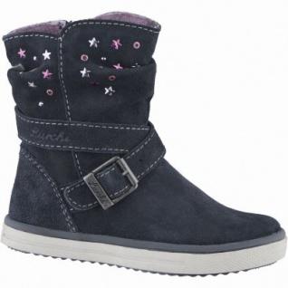 Lurchi Cina Mädchen Leder Winter Tex Stiefel atlantic, Warmfutter, warmes Fußbett, mittlere Weite, 3739124/35