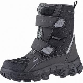 Richter warme Jungen Tex Boots black, mittlere Weite, 13 cm Schaft, Warmfutter, warmes Fußbett, 3741233/36