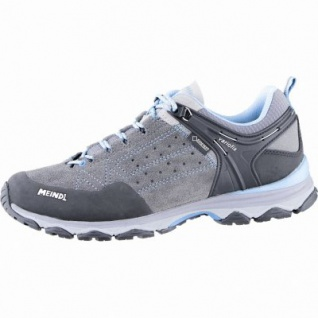 Meindl Ontario Lady GTX Damen Leder Trekking Schuhe grau, Air-Active-Fußbett, 4439119