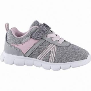 Brütting Cookie VS Mädchen Nylon Lauflern Sneaker grau, Textilfutter, auswechselbare Textileinlegesohle, 304210220