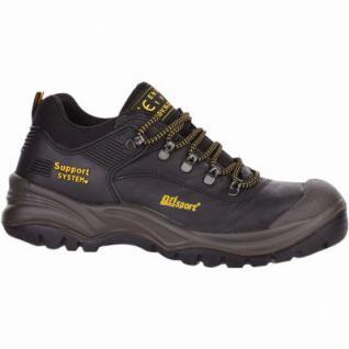 Grisport Asiago S3 Herren Leder Sicherheits Schuhe schwarz, DIN EN 345/S3, 5530103/45