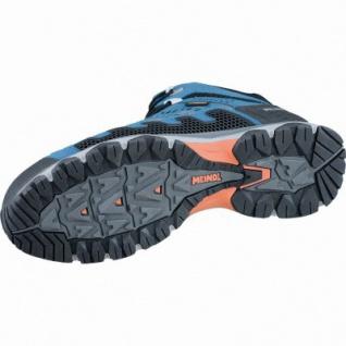 Meindl X-SO 70 Mid GTX Herren Velour Mesh Trekking Schuhe blau, Surround-Soft-Fußbett, 4437128/8.5 - Vorschau 2