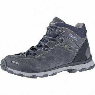 Meindl Asti Lady Mid GTX Damen Leder Trekking Stiefel anthrazit, Comfort-Fit-Fußbett, 4440114