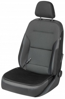 weiches Universal Polyester Auto Sitzheizkissen schwarz, 12 Volt, Sitz Heizkissen, Heizmatte