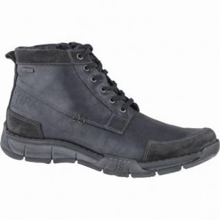 Josef Seibel Phil 03 Herren Leder Winter Boots schwarz, Warmfutter, Top-Dry-Tex, Fußbett, 2539185