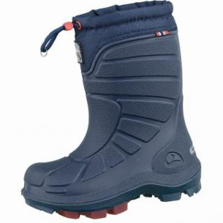Viking Extreme Jungen PU Thermo Boots navy, Wolle/Polyester-Futter, warmes Fußbett, bis -20 Grad, 4537111