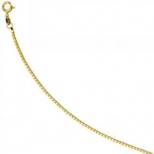 Venezianerkette 585 Gelbgold 1, 5 mm 45 cm Gold Kette Halskette Goldkette