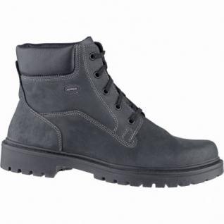 Jomos Herren Leder Winter Boots schwarz, Lammfellfutter, warmes Fußbett, Extra Weite, 2539117/45