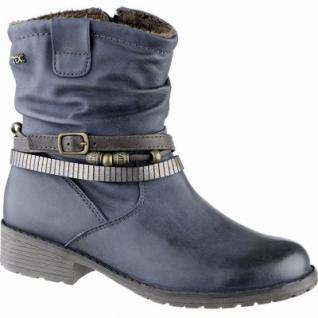 Indigo modische Mädchen Synthetik Winter Tex Stiefeletten denim, Warmfutter, warmes Fußbett, 3739160/33
