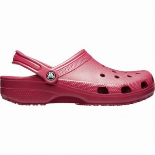 Crocs Classic coole Damen Clogs pomegrante, Massage Fußbett, Belüftungsöffnungen, 4341101/41-42