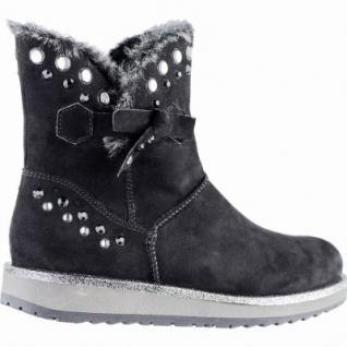 Marco Tozzi coole Damen Velour Imitat Winter Boots schwarz, Warmfutter, warme Decksohle, 1639345 - Vorschau 2