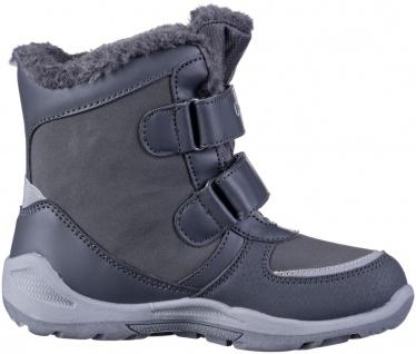 KAPPA Glitzy Tex Mädchen Winter Synthetik Boots grey, Warmfutter, wasserdicht... - Vorschau 3
