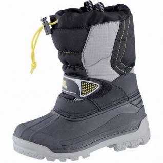Meindl Snowy 3000 Jungen Mesh Winter Boots granit, Innenschuh aus Webpelz, 4539103/30