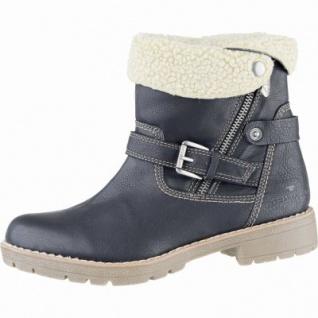 TOM TAILOR Damen Synthetik Winter Boots schwarz, 2 Schaftvarianten, Warmfutter, Tex Ausstattung, 1639283/37