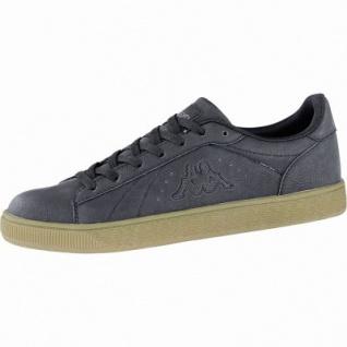 Kappa Meseta RB modische Herren Synthetik Sneakers black, weiche Sneaker Laufsohle, 4240123/44