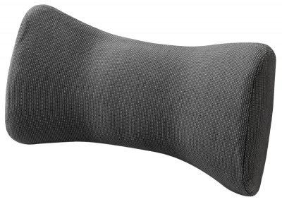 ergonomisches Memory Foam Auto Nackenstütz Kissen schwarz 28x16x11 cm, stützt die Halswirbelsäule