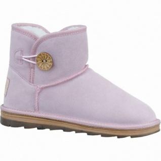 Marco Tozzi coole Damen Velourleder Boots rose, molliges Warmfutter, mollig warmes Fußbett, 1637251/40