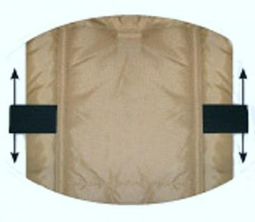 molliger Baby Winter Fleece Fußsack marineblau, für Tragschalen, Autositze, ca. 79x39 cm - Vorschau 2