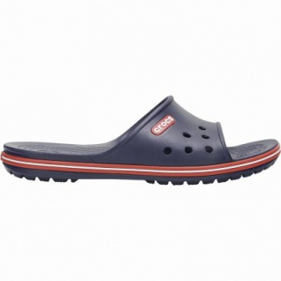 Crocs Crocband II Slide Damen, Herren Pantoletten navy, Croslite Foam-Fußbett, 4339101/37-38