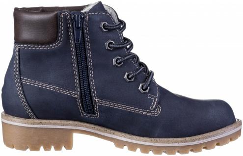 INDIGO warme Mädchen Synthetik Boots navy, Tex Ausstattung, Fleecefutter