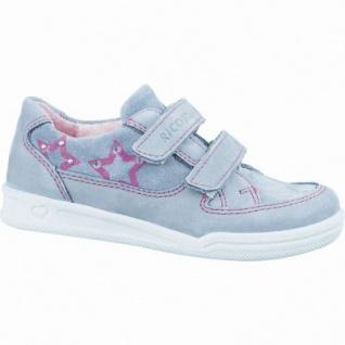 Ricosta Anjana modische Mädchen Leder Sneakers grafit, Lederfutter, waschbares Ricosta Fußbett, mittlere Weite, 3336207