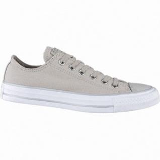 Converse CTAS - Metallic Toecap - OX coole Damen Canvas Metallic Sneakers beige, Converse Laufsohle, 1240114