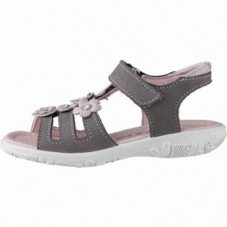 Ricosta Chica Mädchen Leder Sandalen graphit, mittlere Weite, weiches Fußbett, 354215625