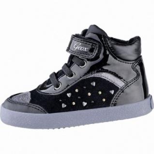 Geox coole Mädchen Synthetik Lauflern Boots black, Antishokk, Geox Laufsohle, 3039103/25