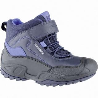 Geox coole Jungen Synthetik Winter Amphibiox Sneakers navy, angerautes Futter, Thermo Fußbett, 3739172/32