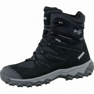 Meindl Calgary Lady GTX Damen Velour Winter Trekking Stiefel schwarz, 15 cm Schaft, Winterfilz Fußbett, Insulated, 4541108/6.0