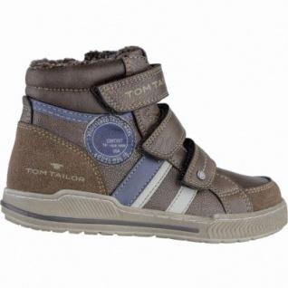 TOM TAILOR coole Jungen Synthetik Winter Sneakers rust, molliges Warmfutter, weiches Fußbett, 3739212/39 - Vorschau 2