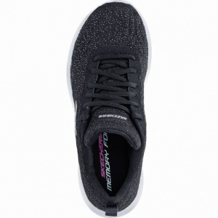 Skechers Dynamight coole Damen Strick Sneakers black, Skechers Memory-Foam-Fußbett, 4240184/39 - Vorschau 2