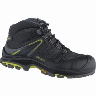 Grisport Maranello Herren Leder Sicherheits Schuhe nero, DIN EN ISO 20345, öl...