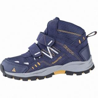 Kapppa Bliss Mid II Tex K coole Jungen Synthetik Tex Boots navy, Meshfutter, herausnehmbares Fußbett, 3741125/37