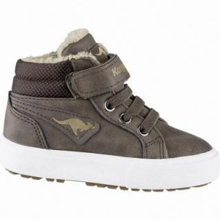 Kangaroos KaVu III Jungen Synthetik Lauflern Boots brown, molliges Warmfutter, warmes Fußbett, 3241131