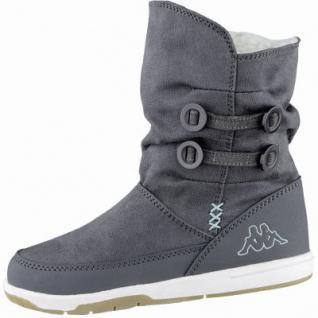 Kapppa Cream modische Mädchen Synthetik Winter Boots anthrazit, Warmfutter, 3739103