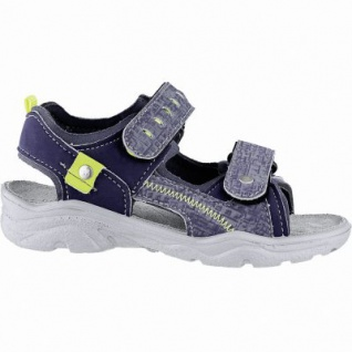 Ricosta Tajo coole Jungen Synthetik Sandalen nautic, mittlere Weite, Ricosta Leder Fußbett, 3540172/36