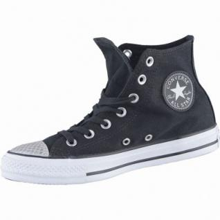 Converse Chuck Taylor All Star-Metallic Toecap-HI coole Damen Canvas Metallic Sneakers black, 4238192/36
