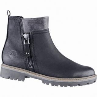 Marco Tozzi chice Damen Nubuk Imitat Winter Boots schwarz, Warmfutter, Feel me Decksohle, 1639127