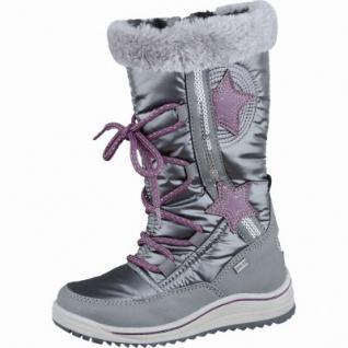 Be Mega trendige Mädchen Synthetik Winter Boots coal, molliges Warmfutter, weiches Fußbett, 4537121/25