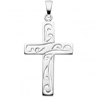Anhänger Kreuz 925 Sterling Silber Kreuzanhänger Silberkreuz