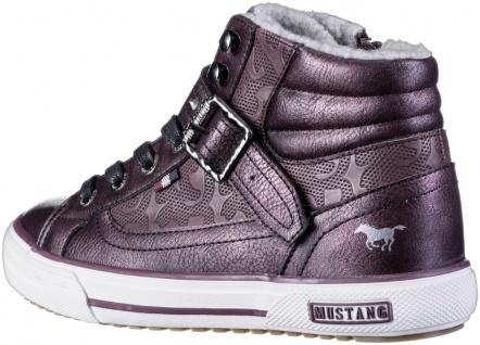 MUSTANG Mädchen Winter Synthetik Boots bordeaux, angerautes Futter, warme Dec... - Vorschau 2
