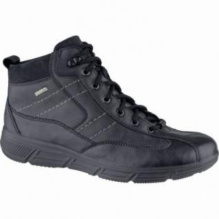 Jomos Herren Leder Winter Boots schwarz, Sympatex, Schurwollfutter, warmes Fußbett, Extra Weite, 2539115